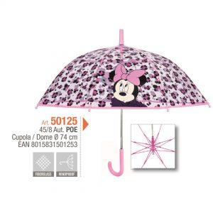 Paraguas Minnie de niña Bargues 50125