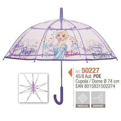 Paraguas Frozen transparente Bargues 50227