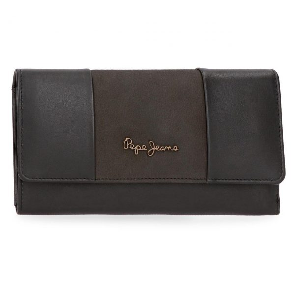 Monedero Pepe Jeans Double Negra 76335
